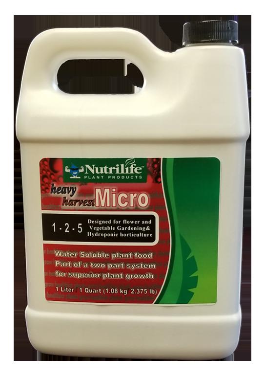 nutrilife heavy harvest micro
